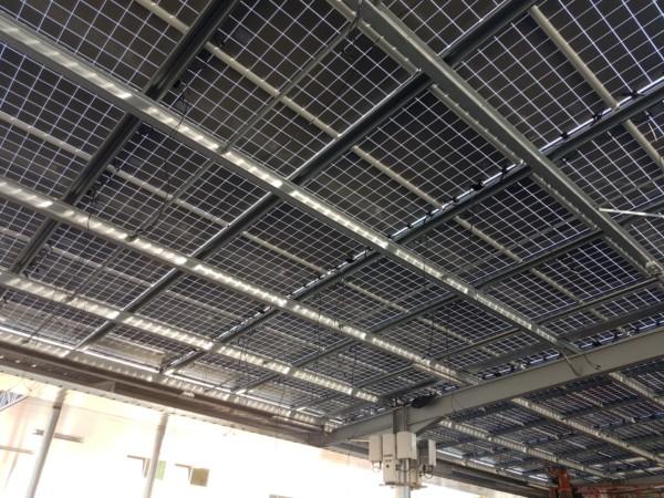 Panneaux solaires en autoconsommation.