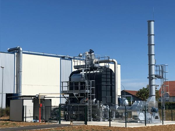 Helios laboratoire, dispositif de récupération de chaleur sur four industriel.