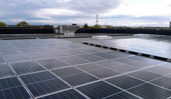 Panneaux solaires sur la toiture Colmar.